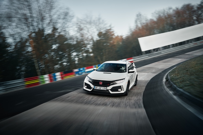 Honda Civic Type R reclaims FWD Nurburgring record Image #649973