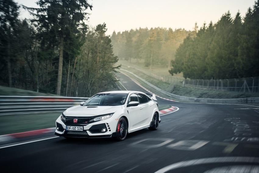 Honda Civic Type-R generasi baharu rampas takhta kereta pacuan hadapan terpantas di litar Nurburgring Image #650322