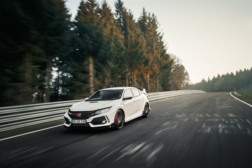 Honda Civic Type R reclaims FWD Nurburgring record Image #649975