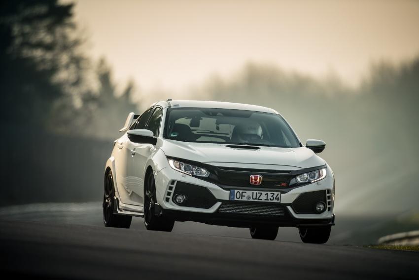 Honda Civic Type-R generasi baharu rampas takhta kereta pacuan hadapan terpantas di litar Nurburgring Image #650318