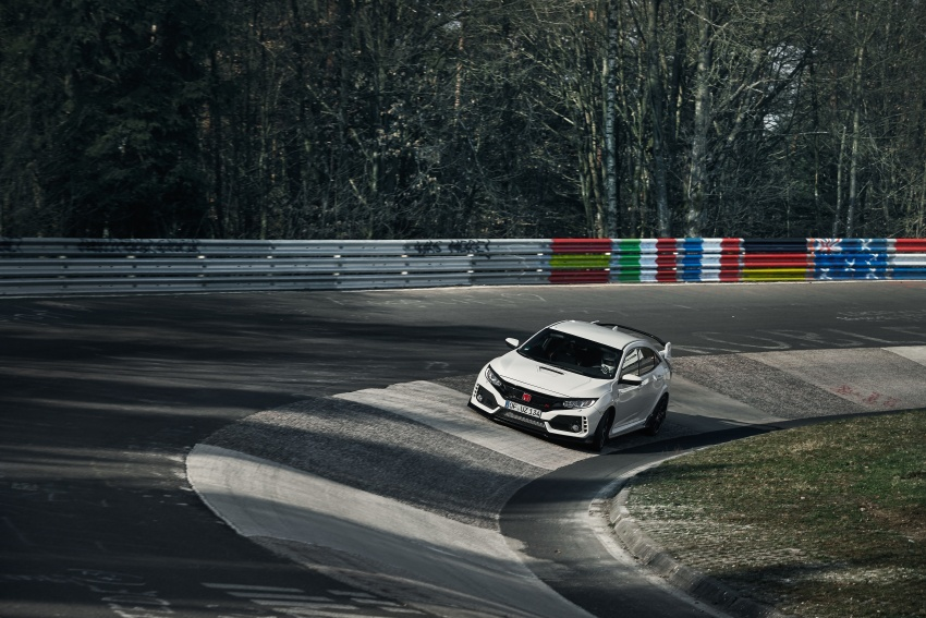 Honda Civic Type R reclaims FWD Nurburgring record Image #649977
