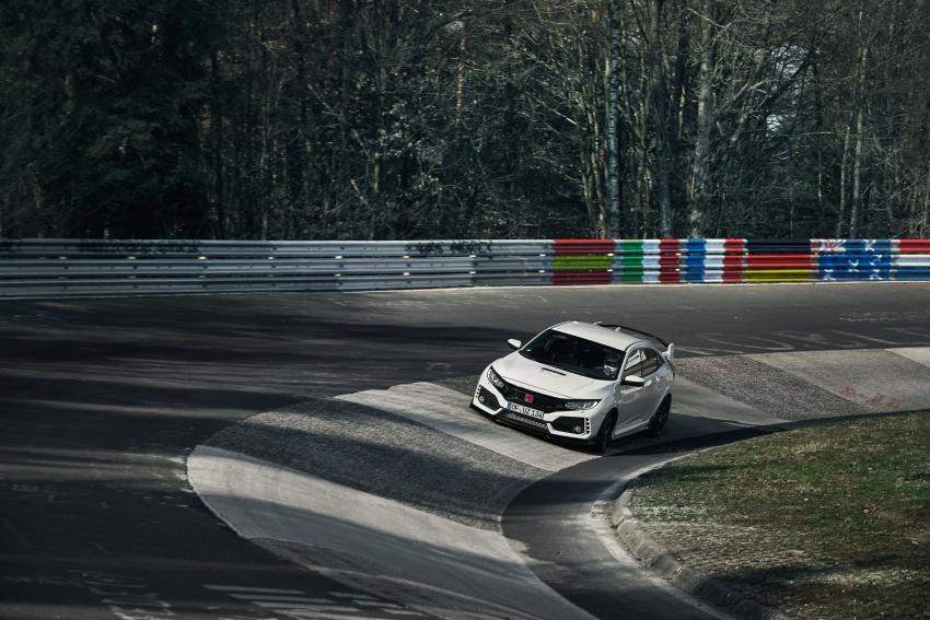 Honda Civic Type-R generasi baharu rampas takhta kereta pacuan hadapan terpantas di litar Nurburgring Image #650317