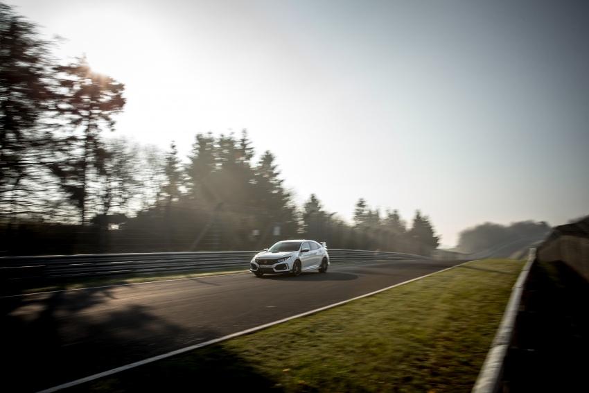 Honda Civic Type-R generasi baharu rampas takhta kereta pacuan hadapan terpantas di litar Nurburgring Image #650315