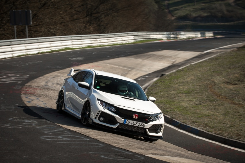 Honda Civic Type R reclaims FWD Nurburgring record Image #649979