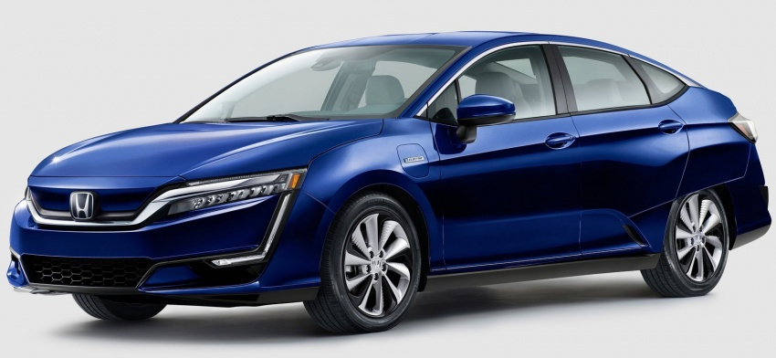 Honda Clarity Plug-in Hybrid and Electric revealed Image #645539