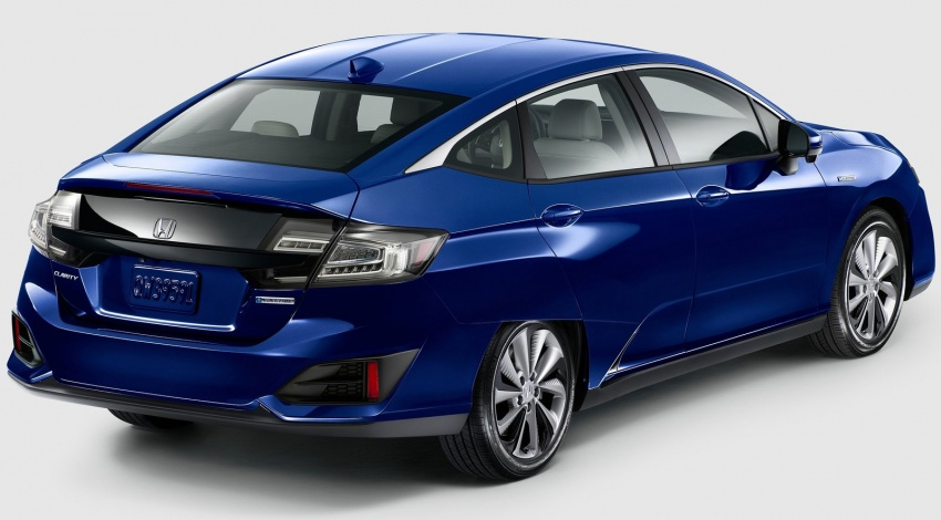 Honda Clarity Plug-in Hybrid and Electric revealed Image #645540