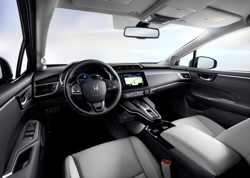 Honda Clarity Plug-in Hybrid and Electric revealed Image #645541