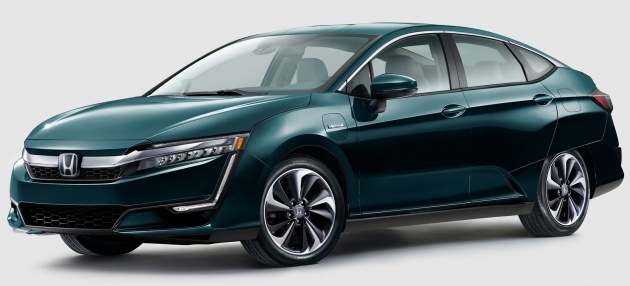 Honda Clarity Plug In Hybrid And Electric Revealed