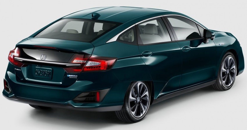 Honda Clarity Plug-in Hybrid and Electric revealed Image #645547