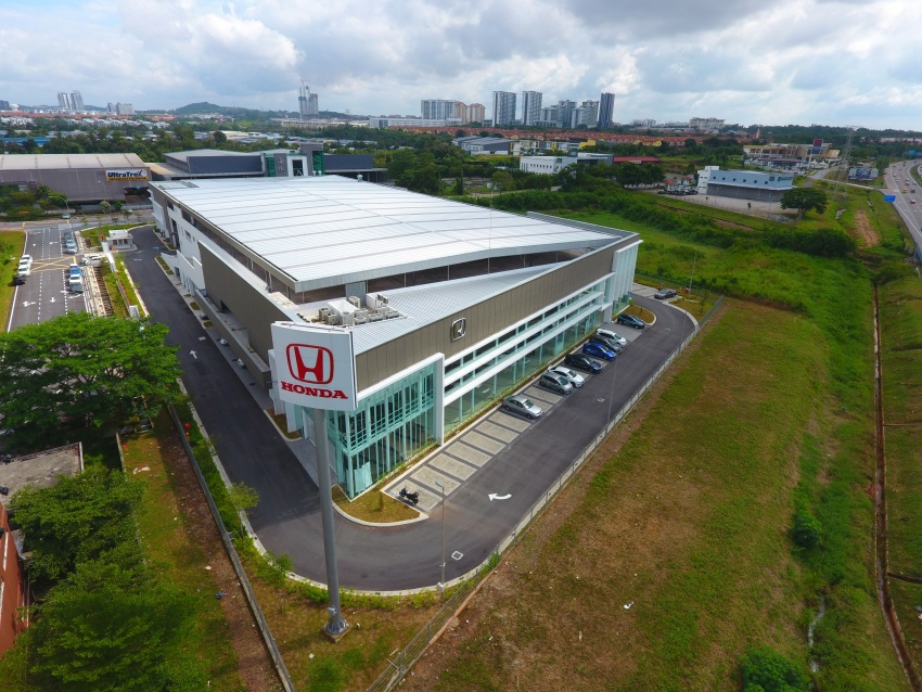 Honda Malaysia launches biggest 4S centre in Johor; records 45% sales increase in Q1 2017 from last year Image #649794