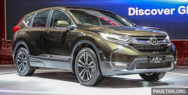 Iims 2017 New Honda Cr V Launched In Indonesia Seven Seat 15l