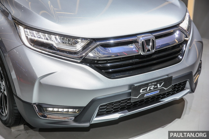 IIMS 2017: New Honda CR-V launched in Indonesia – seven-seat 1.5L VTEC Turbo, five-seat 2.0L NA Image #651660