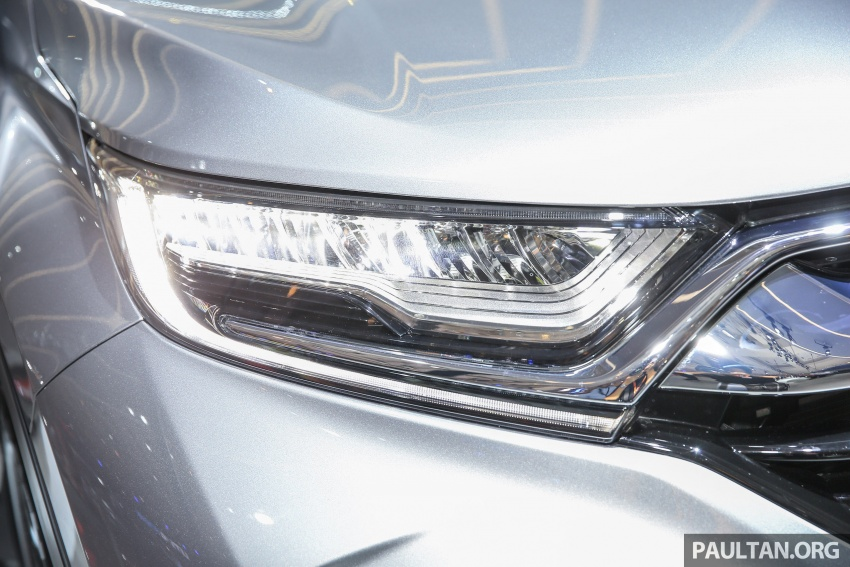 IIMS 2017: New Honda CR-V launched in Indonesia – seven-seat 1.5L VTEC Turbo, five-seat 2.0L NA Image #651661