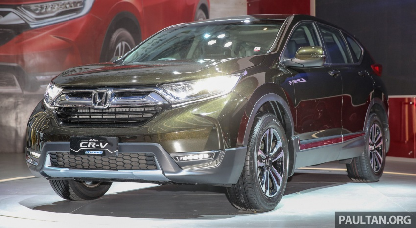 IIMS 2017: New Honda CR-V launched in Indonesia – seven-seat 1.5L VTEC Turbo, five-seat 2.0L NA Image #651650