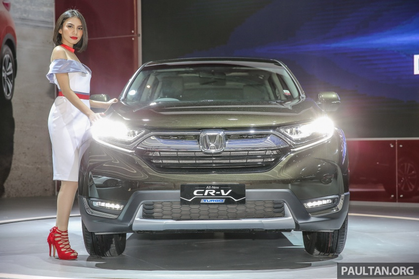 IIMS 2017: New Honda CR-V launched in Indonesia – seven-seat 1.5L VTEC Turbo, five-seat 2.0L NA Image #651653