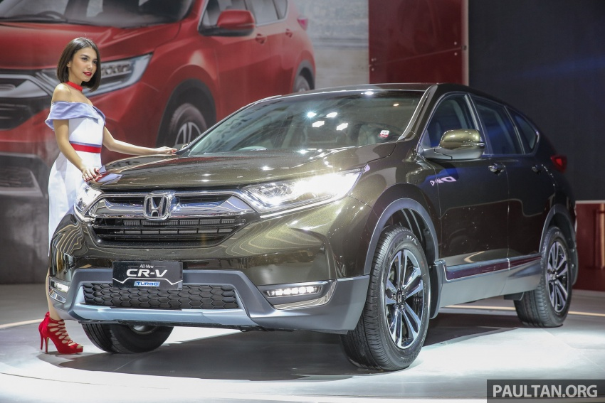 IIMS 2017: New Honda CR-V launched in Indonesia – seven-seat 1.5L VTEC Turbo, five-seat 2.0L NA Image #651654