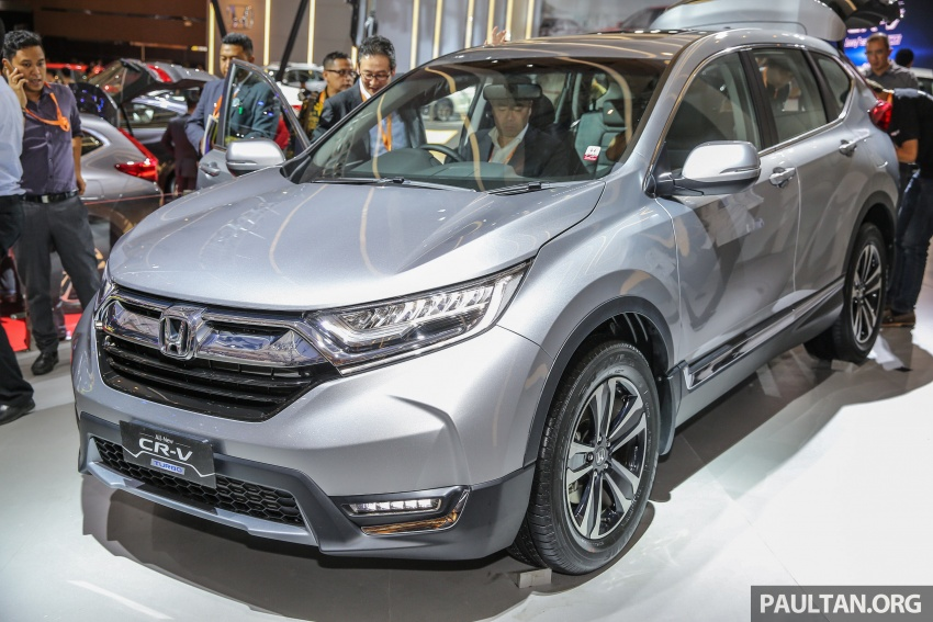 IIMS 2017: New Honda CR-V launched in Indonesia – seven-seat 1.5L VTEC Turbo, five-seat 2.0L NA Image #651655