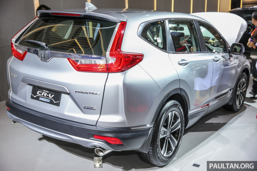 IIMS 2017: New Honda CR-V launched in Indonesia – seven-seat 1.5L VTEC Turbo, five-seat 2.0L NA Image #651656