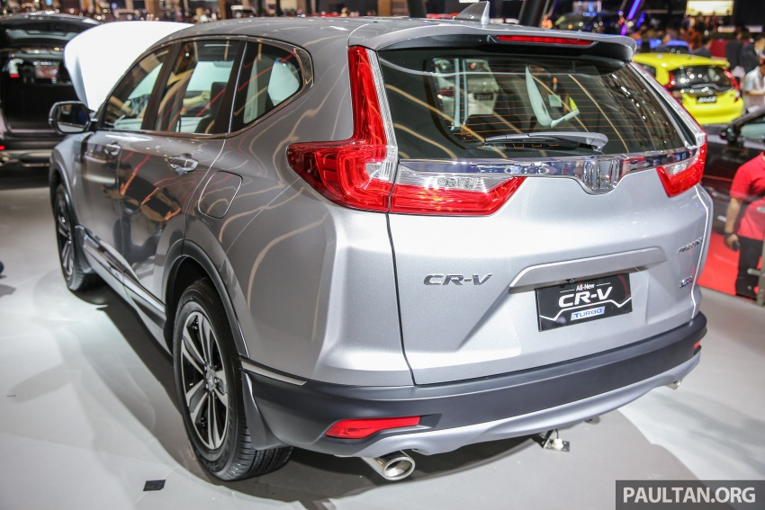 IIMS 2017: New Honda CR-V launched in Indonesia – seven-seat 1.5L VTEC Turbo, five-seat 2.0L NA Image #651657