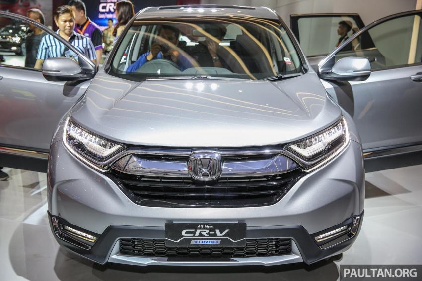 IIMS 2017: Honda CR-V baharu kini di Indonesia – 1.5L VTEC Turbo 7-tempat duduk, 2.0L NA 5-tempat duduk Image #652133