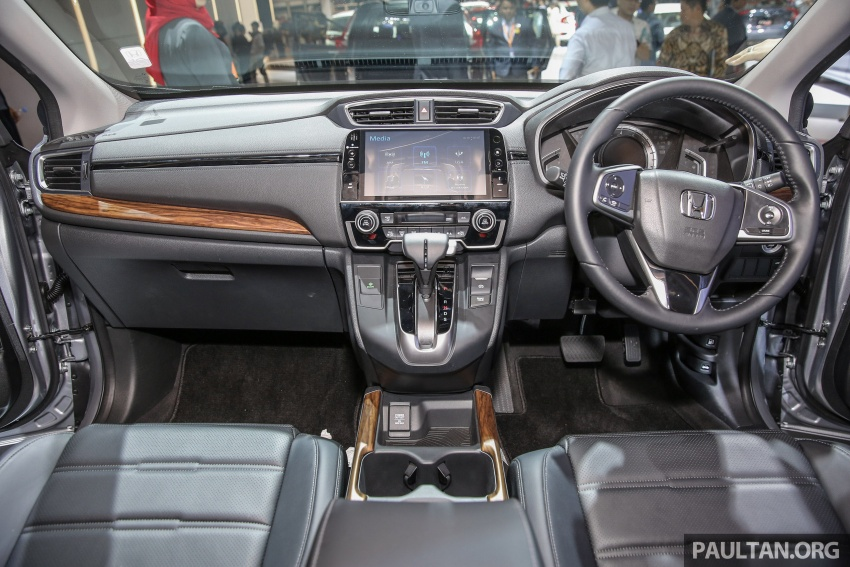 IIMS 2017: New Honda CR-V launched in Indonesia – seven-seat 1.5L VTEC Turbo, five-seat 2.0L NA Image #651679