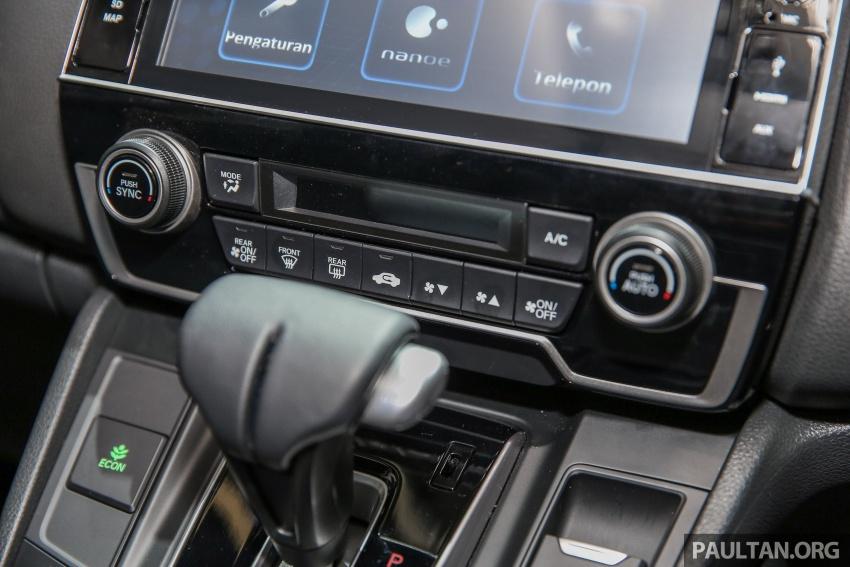 IIMS 2017: Honda CR-V baharu kini di Indonesia – 1.5L VTEC Turbo 7-tempat duduk, 2.0L NA 5-tempat duduk Image #652165
