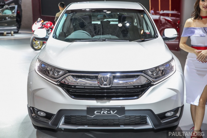 IIMS 2017: New Honda CR-V launched in Indonesia – seven-seat 1.5L VTEC Turbo, five-seat 2.0L NA Image #651995