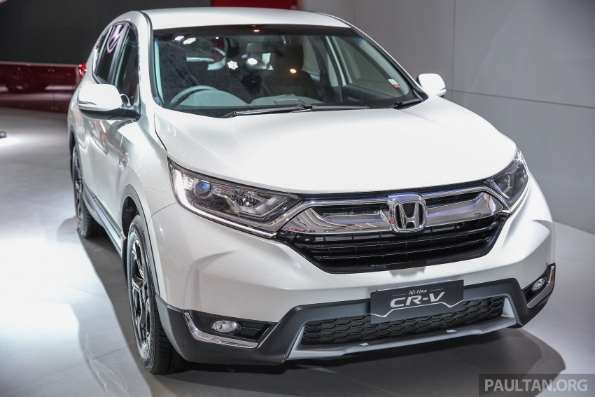IIMS 2017: New Honda CR-V launched in Indonesia – seven-seat 1.5L VTEC Turbo, five-seat 2.0L NA Image #651996