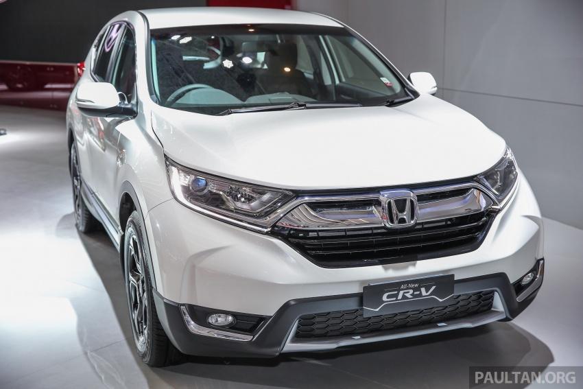 IIMS 2017: Honda CR-V baharu kini di Indonesia – 1.5L VTEC Turbo 7-tempat duduk, 2.0L NA 5-tempat duduk Image #652254
