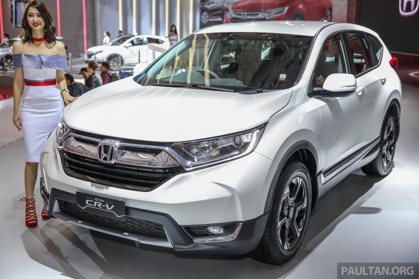 IIMS 2017: New Honda CR-V launched in Indonesia – seven-seat 1.5L VTEC Turbo, five-seat 2.0L NA Image #651997