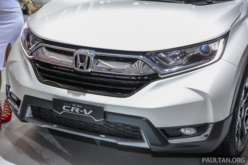IIMS 2017: New Honda CR-V launched in Indonesia – seven-seat 1.5L VTEC Turbo, five-seat 2.0L NA Image #651998