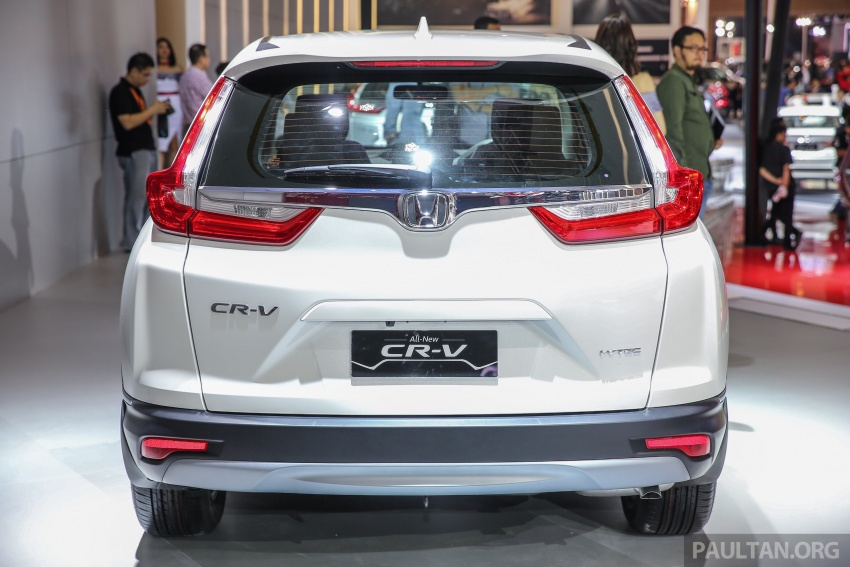 IIMS 2017: New Honda CR-V launched in Indonesia – seven-seat 1.5L VTEC Turbo, five-seat 2.0L NA Image #652000
