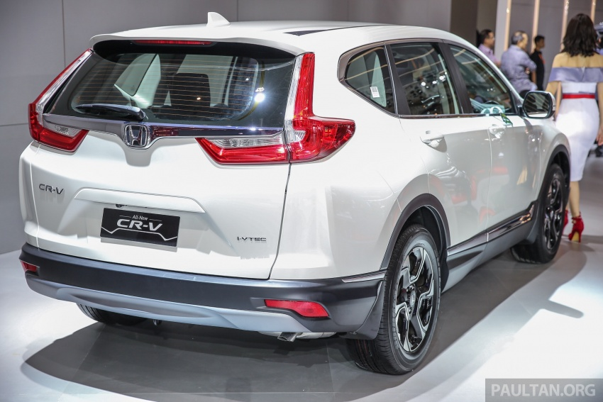 IIMS 2017: New Honda CR-V launched in Indonesia – seven-seat 1.5L VTEC Turbo, five-seat 2.0L NA Image #652001