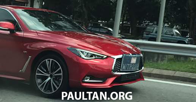 Infiniti Q60 spotted in Malaysia – launching soon? Image #649494