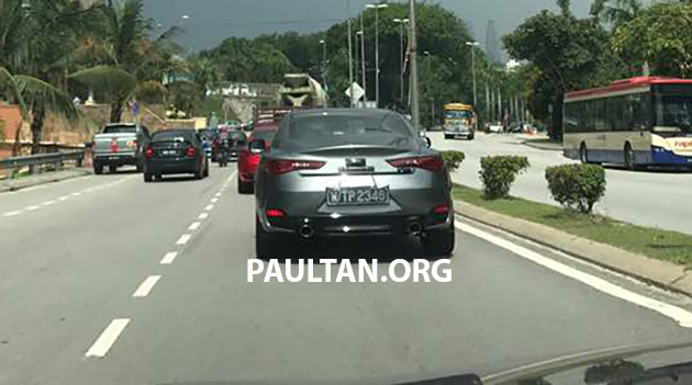 Infiniti Q60 spotted in Malaysia – launching soon? Image #649495