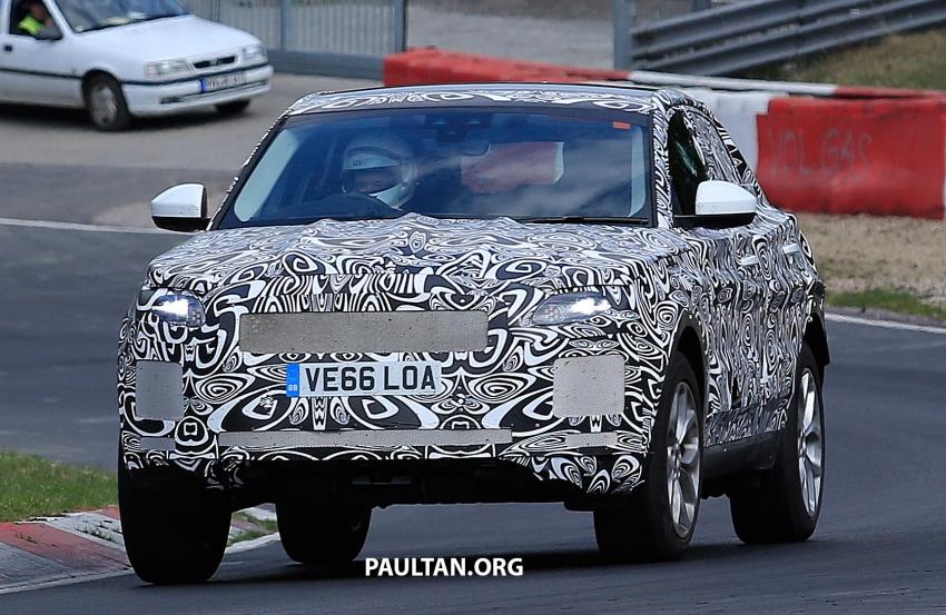 SPYSHOTS: Jaguar E-Pace spotted testing again Image #640637