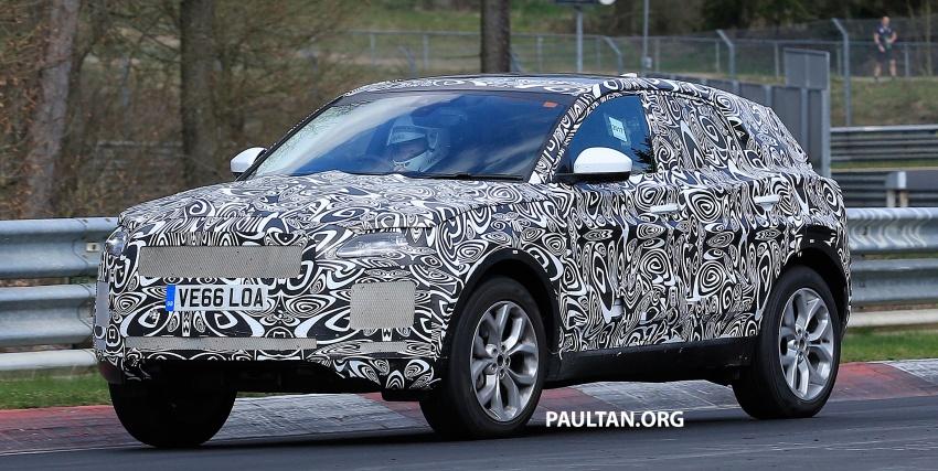 SPYSHOTS: Jaguar E-Pace spotted testing again Image #640641
