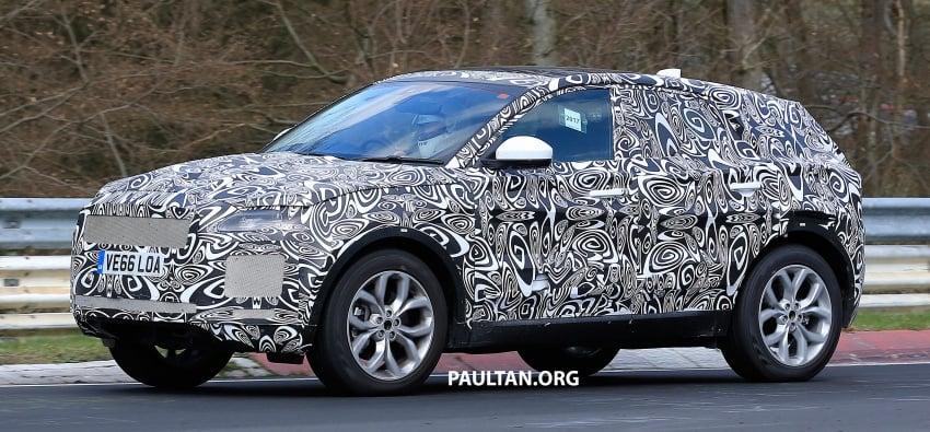 SPYSHOTS: Jaguar E-Pace spotted testing again Image #640643