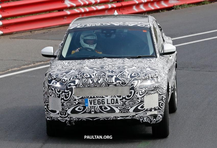 SPYSHOTS: Jaguar E-Pace spotted testing again Image #640634