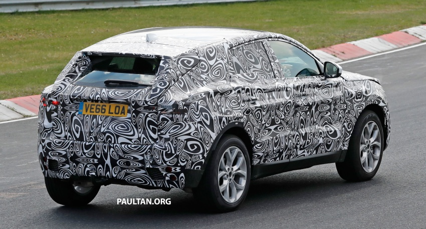 SPYSHOTS: Jaguar E-Pace spotted testing again Image #640646