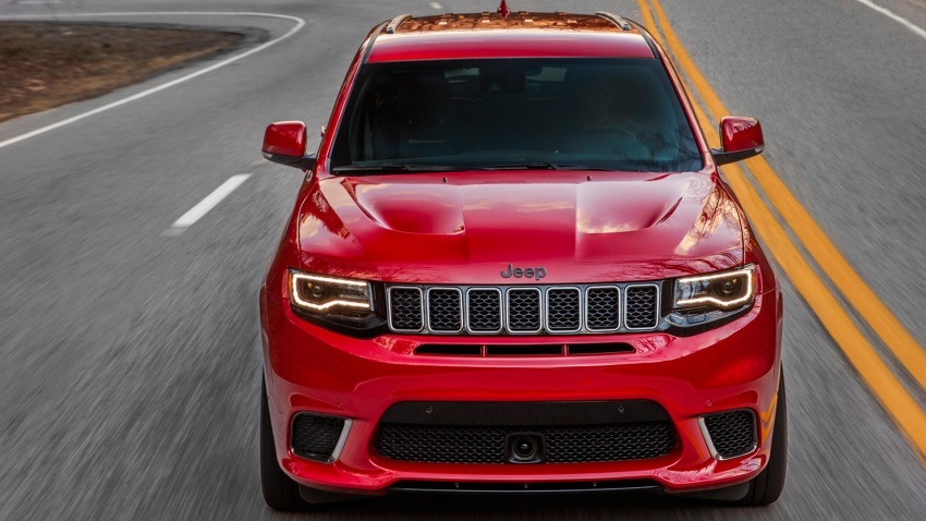 2018 Jeep Grand Cherokee Trackhawk – 707 hp SUV Image #642217