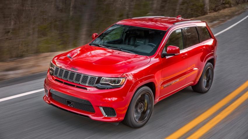 2018 Jeep Grand Cherokee Trackhawk – 707 hp SUV Image #642264