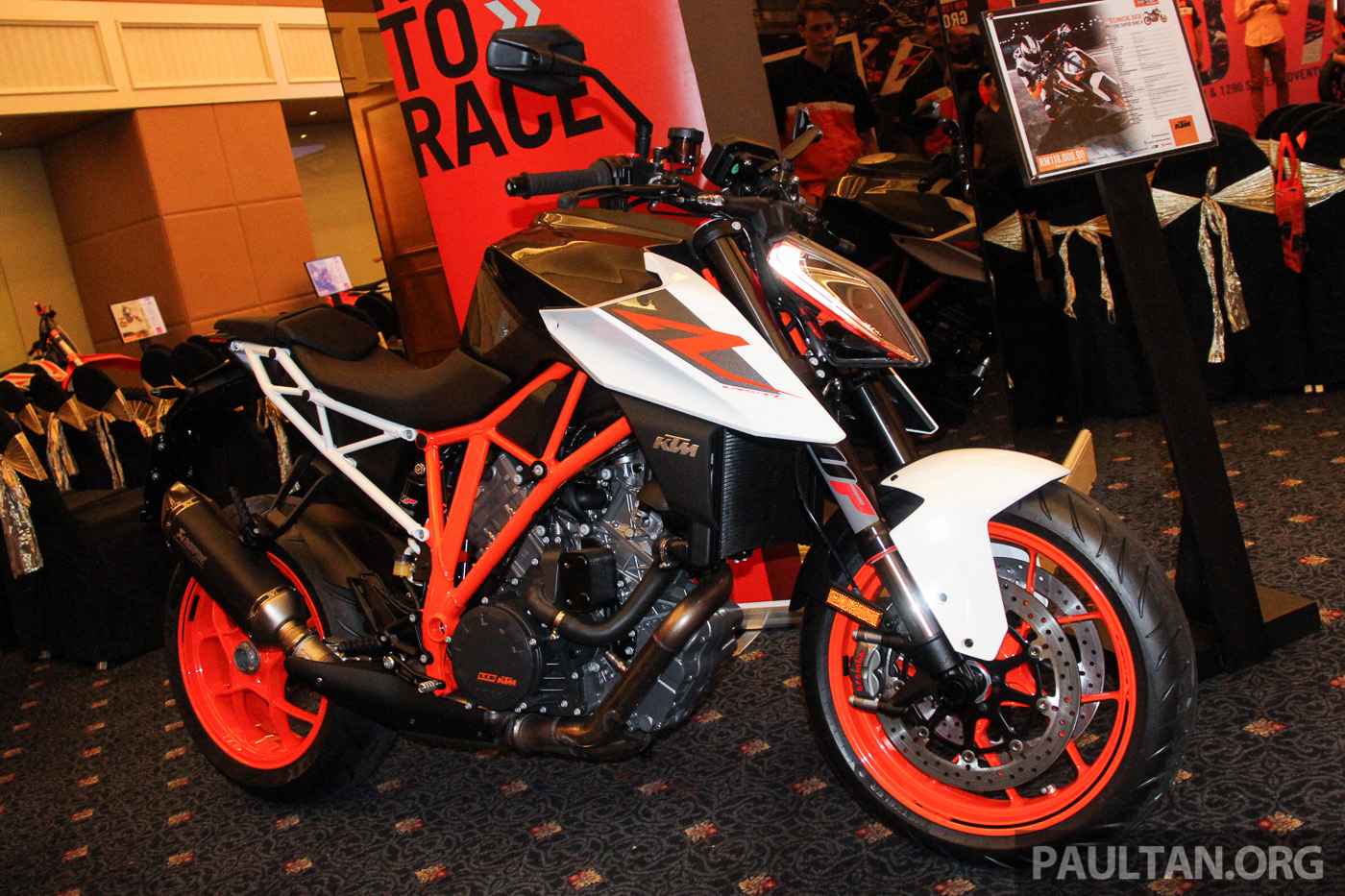 2017 KTM Super Adventure S and Super Duke R Malaysia launch - RM115,000 and RM118,000, incl. GST
