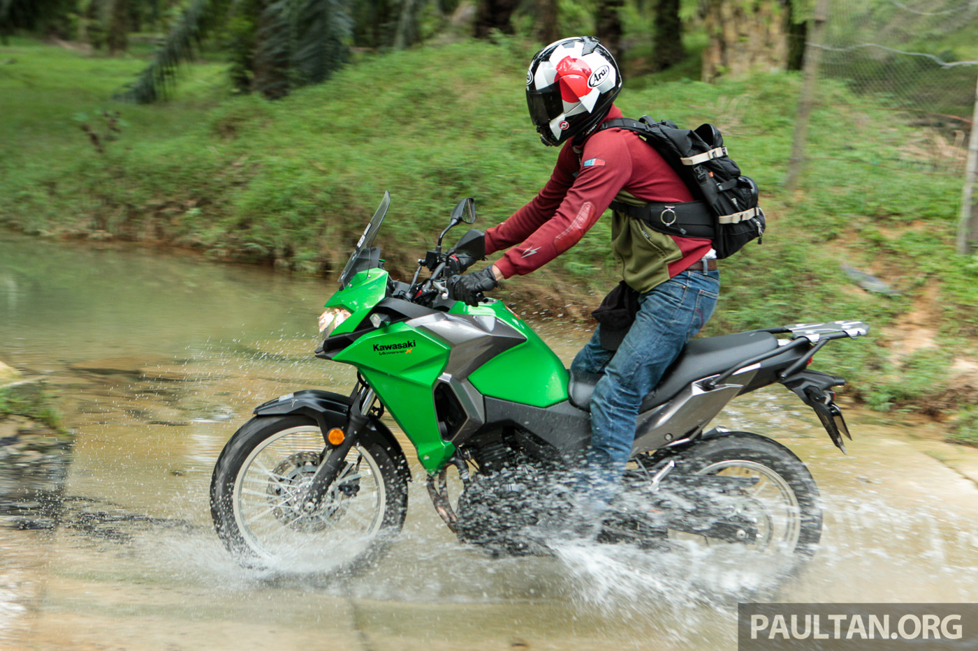 Kawasaki Test Ride Roadshow At Melawati Stadium, Shah Alam
