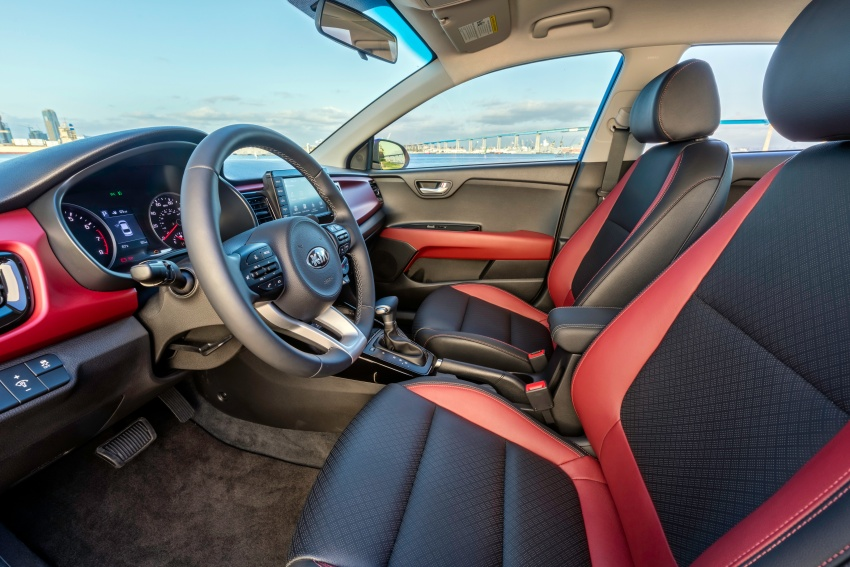 Kia Rio Sedan – next-generation revealed in New York Image #644321