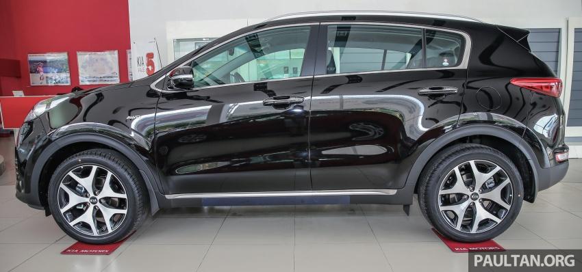 Kia Sportage GT CRDi diesel now in Malaysia, RM160k Image #650168