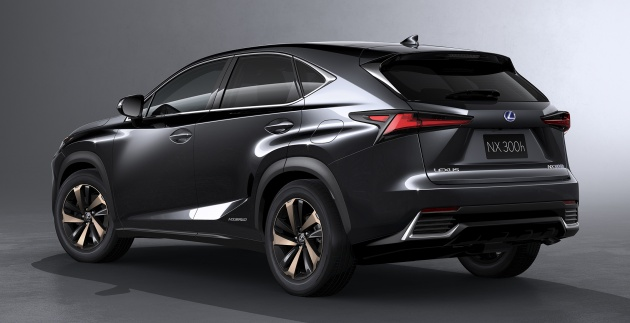 lexus nx facelift debuts with active safety systems, improved