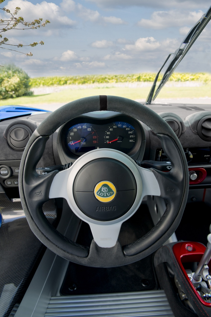 Lotus Exige Cup 380 – 53 kg lighter, limited to 60 units Image #649685