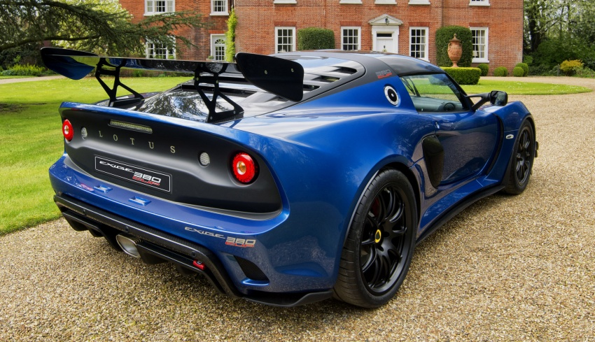 Lotus Exige Cup 380 – 53 kg lighter, limited to 60 units Image #649676