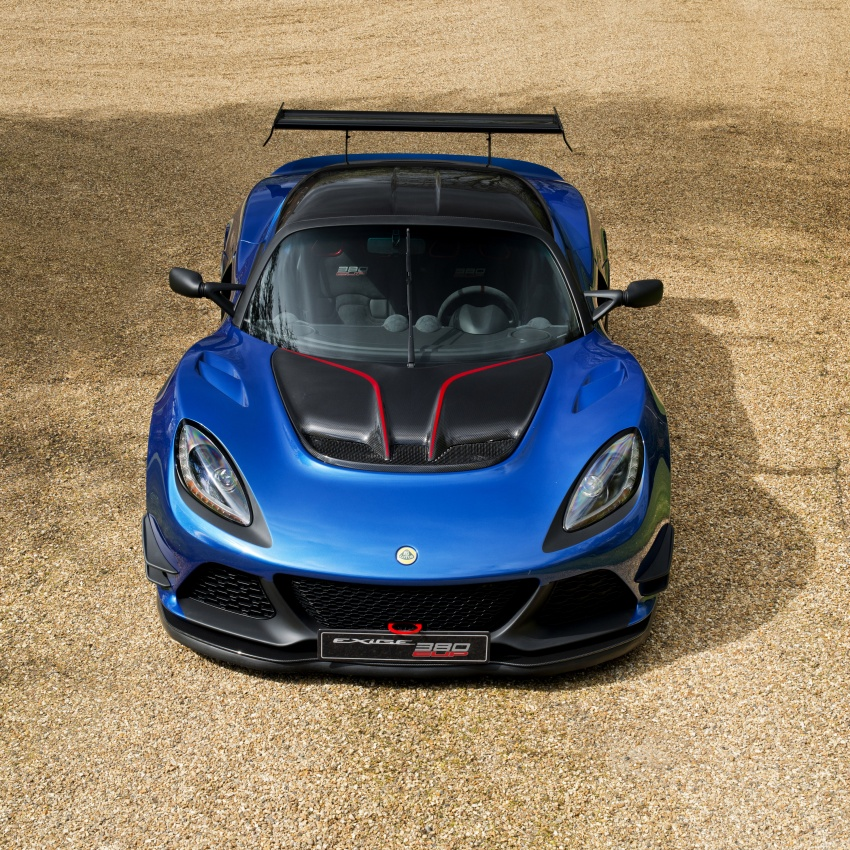 Lotus Exige Cup 380 – 53 kg lighter, limited to 60 units Image #649678